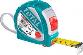 Ruletė TOTAL, 10m, 25 mm, TMT126101M