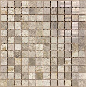 Akmens masės mozaika MARBLE GREY STG23002, 30,5 x 30,5 cm, 11 vnt./ dėž.