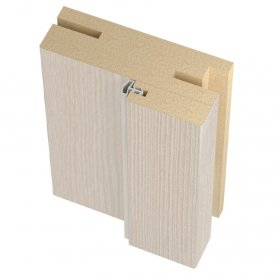Laminuotų durų stakta su tarpine UNIDOORS reguliuojama, Matmenys 32x70x2070 mm, 2,5 vnt., kapučino