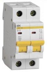 Automatinis išjungiklis IEK MVA21-2-016-C, 2P, 16 A, 4.5 kA, C