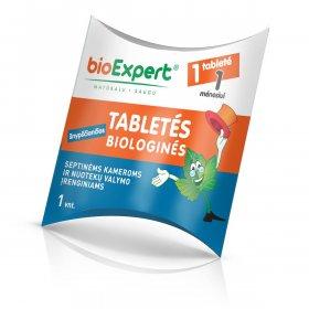 Biologinės tabletės lauko tualetų priežiūrai, 1 tabletė.
