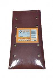Šlifavimo lapeliai CORTEX, 115 x 230 mm, P80