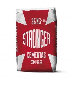 Cementas STRONGER CEM I 42,5 R, 35 kg