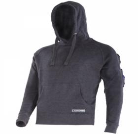 Džemperis LAHTI PRO, su gaubtu, juodas, 2XL dydis, CE