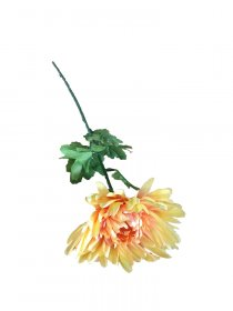 Dirbtinė gėlė chrizantema NOVELLY HOME, geltonos sp., 70 cm., GF13409G
