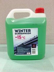 Automobilio langų ploviklis WINTER SCREENWASH, -15C, 4L, žieminis