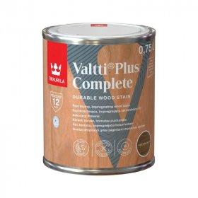 Medienos dažyvė TIKKURILA VALTTI PLUS COMPLETE, 0,75 L, spalva MEDIUM NUT