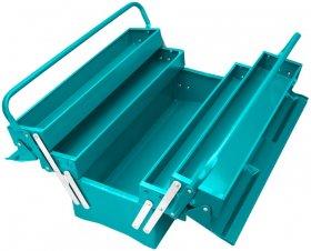 Dėžė įrankiams TOTAL, metalinė, 495x200x290 mm, THT10701