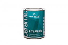 Fasadiniai dažai TOPCOLOR CERAMIC City Facade, 1l
