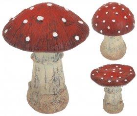 Sodo dekoracija, Musmirė, 3-jų dizainų, aukštis 13 cm.