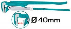 "Santechninis raktas TOTAL, 1"", iki 40 mm, 90 laipsnių THT172011"