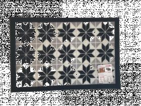 Kilimėlis ALICANTE KAFELKI, 40 x 60 cm, pilkas, 624-004