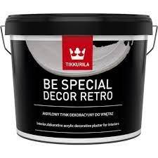 Dekoratyvinis tinkas vidaus darbams TIKKURILA BE SPECIAL DECOR RETRO, 14 kg