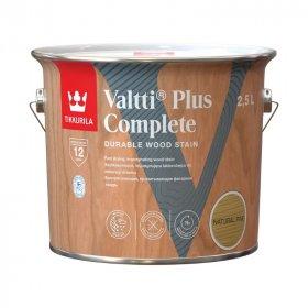 Medienos dažyvė TIKKURILA VALTTI PLUS COMPLETE, 2,5 L, spalva NATURAL PINE