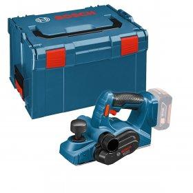 Akumuliatorinis oblius BOSCH GHO 18 V-LI Solo Blue, 18 V, 0 - 1,6 mm