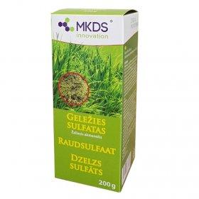 Geležies sulfatas, tinka sąmanoms naikinti   200 g.