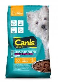 Sausas šunų ėdalas CANIS Minor, su vištiena, 2,2kg