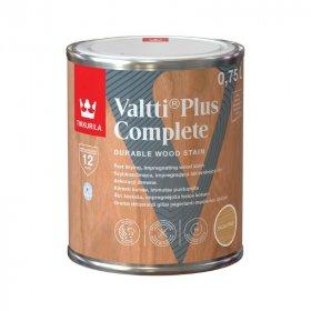 Medienos dažyvė TIKKURILA VALTTI PLUS COMPLETE, 0,75 L, spalva ITALIAN PINE