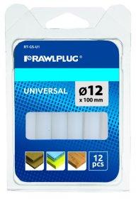 Klijai, universalūs RAWLPLUG, 12 x 100 mm, 12 vnt., RT-GS-U1