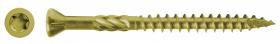 Terasiniai sraigtai su Ruspert padengimu RAWLPLUG, lauko darbams, 4 x 60 mm, 200 vnt.