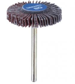 Žiedlapinis šlifavimo diskas DREMEL, siauras K80, D=28,6 mm, 1 vnt.