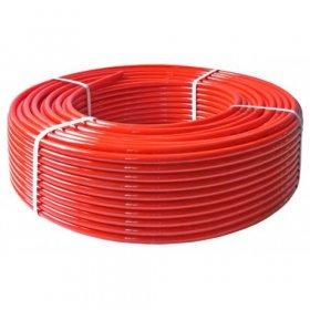 Vamzdis grindų šildymui GALLAPLAST PE-RT EVOH, 18 x 2 mm, raudonas, 240 m, 115513