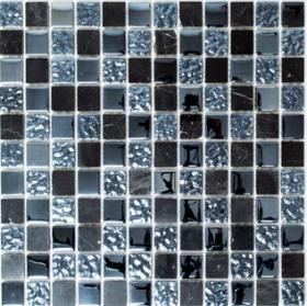 Mozaika GLOBE MIX, 32,7 x 30,2 cm, 10 vnt./dėž., stiklo, Vokietija, MM 0058, N