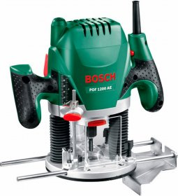 "Elektrinė freza BOSCH POF 1200 AE Green, galia 1200 W, 6, 8 mm, 1/4"""