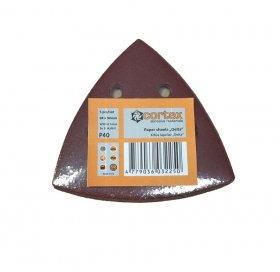 Šlifavimo lapeliai CORTEX Delta, 93 x 93 mm, 5 vnt., P60