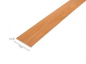 Laminuotų durų apvadai UNIDOORS  Matmenys 70 x 8 x 2150 mm, užapvalinti, milano riešuto spalvos.