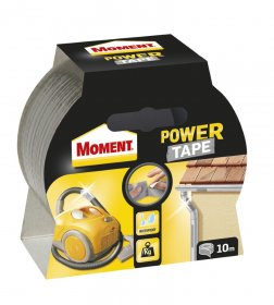 Juosta lipni Moment Power Tape sidabrinė 10m