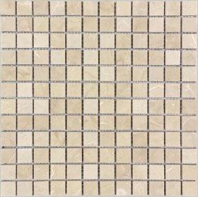 Akmens masės mozaika MARBLE BEIGE STB23001, 30,5 x 30,5 cm, 11 vnt. / dėž.