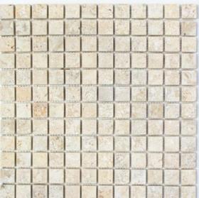 Mozaika LIME STONE BRUSHED, 30,5 x 30,5 cm, 10 vnt./dėž., akmens masės, Vokietija, MM 0221, N