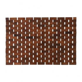 Medinis kilimėlis BAMBOO TAMSUS, 42 x 60 x 0,65 cm, bambukinis