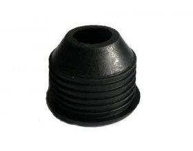 Guminis perėjimas VINITOMA, 40/25 mm, juoda sp., 151324