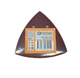 Šlifavimo lapeliai CORTEX Delta, 93 x 93 mm, 5 vnt., P120