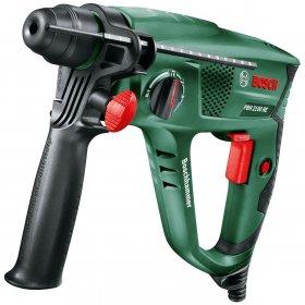Perforatorius BOSCH PBH 2100 RE Green, galia 550 W, smūgio jėga 1,7 J, 2,2 kg