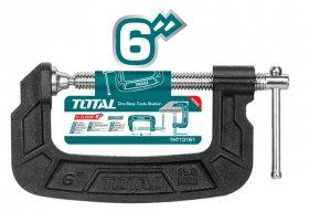 Spaustuvas TOTAL, G-formos, 150 mm, THT13161