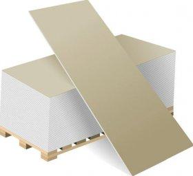 Gipso kartono plokštė BELGIPS  GKP  Matmenys 1200 x 2600 x 12,5 mm 1 vnt - 3,12 m2, N