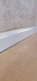 MDF grindjuostė ASMARA PL90222, 2400 x 15 x 70 mm, laminuota, balta, N