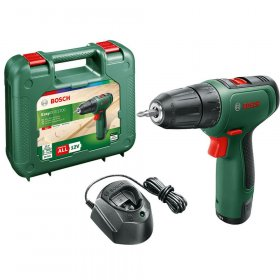 Akumuliatorinis suktuvas BOSCH Easy Drill 1200 Green, 12 V, 1x1,5 Ah