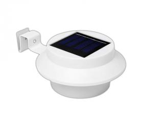 Lauko šviestuvas SUNLUX 8074, su saulės elementais/baterija, metalinis, sieninis, 13 x 13 x 5 cm, A170610064, ST