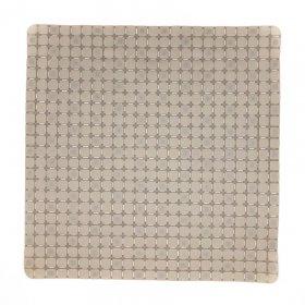 Dušo kilimėlis BENE DOMO, 55 x 54 cm, PVC, su siurbtukais, rusvai žalsvas