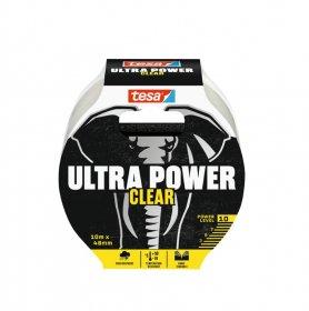 Juosta TESA 56496 ULTRA POWER, skaidri, 10m x 48mm