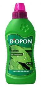 Skystos trąšos žaliems augalams BIOPON  0,5 l.