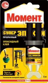 Klijai epoksidiniai Moment Repair Epoxy 2komp 6ml (48)