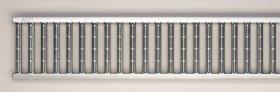 Grotelės ACO Euroline, juostinės, cinkuoto plieno, L-1m, 38516