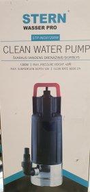 Drenažinis siurblys STERN STP-INOX1200W, švariam vandeniui, N