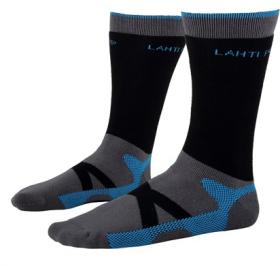 Darbo kojinės LAHTI PRO, pilkai-mėlynos, 39-42 d., termo, CE