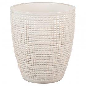 Keramikinis vazonas SCHEURICH 667/15 Bone White 58927 5